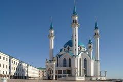 Kazan, mosque Qolsharif Royalty Free Stock Images