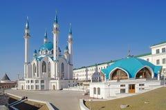 Kazan, mosque Qolsharif Royalty Free Stock Photo