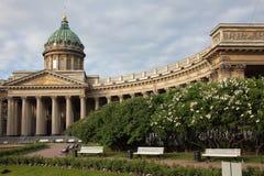 Kazan Orthodox Cathedral. Saint-Petersburg, Russia Stock Images