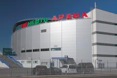 Kazan, Rússia - 26 de maio de 2018: ` Da arena de Tatneft do ` da arena do gelo Foto de Stock Royalty Free