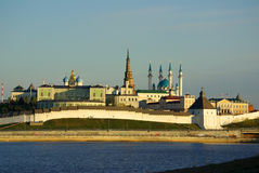 KAZAN, REPUBLIC TATARSTAN, RUSSIA - May, 2014:  Evening view of Stock Photos