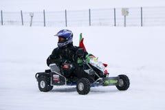 KAZAN ROSJA, GRUDZIEŃ, - 23, 2017: Otwarcie zima sezon Fotografia Stock