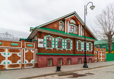 Kazan Rosja, Marzec, - 28 2017 Kazan Muzealny Chak-chak w Tatar Sloboda Fotografia Stock