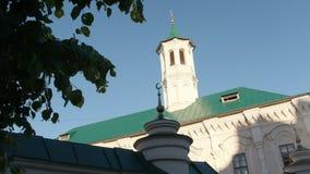 Kazan, Rusia , El 27 de junio de 2017, cubra la mezquita de Apanaevskaya en un día de verano caliente