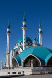kazan Rusland De moskee kul-Sharif Royalty-vrije Stock Foto