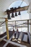 Kazan, Rusland, 9 februari 2017, plaatscontrole voor klok het bellen van Zilant-klooster - beroemde orthodoxe plaats Royalty-vrije Stock Foto's