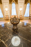 KAZAN, RUSLAND - 16 JANUARI 2017, Stadhuis - luxe en mooie toeristische plaats - antieke toebehoren Royalty-vrije Stock Foto