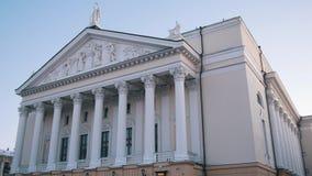 kazan russia 01-12-2018 - En sikt på Kazan opera- och balettteater arkivbilder