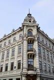 Kazan, Russia - March 27.2017. Fragment of Kazan Hotel on Bauman Street Royalty Free Stock Photography