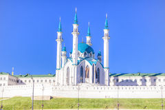Kazan Russia mosque Kul Sharif Stock Photos
