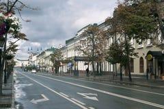 Kazan Russia 15 September 2016. The Kremlin street,city centre Stock Photo