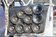 KAZAN, RUSSIE, LE 29 AVRIL 2018 : Salon de l'Auto - bruit automatique 2018 Photos stock