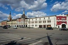 Kazan stacja kolejowa Zdjęcia Stock