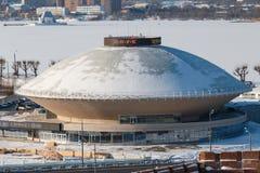 Kazan state circus. In Kazan, Republic of Tatarstan, Russia before renovation Royalty Free Stock Image