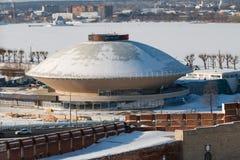 Kazan state circus. In Kazan, Republic of Tatarstan, Russia before renovation Royalty Free Stock Photography