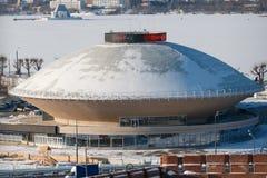 Kazan state circus. In Kazan, Republic of Tatarstan, Russia before renovation Royalty Free Stock Images
