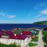 kazan Sviyajsk Sikt av Kazan Arkivfoto