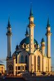Kazan, Tatarstan, Rusland - Augustus 16, 2016: Kul Sharif Mosque royalty-vrije stock fotografie