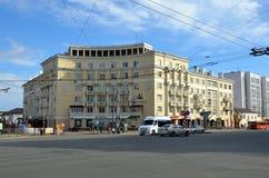 Sberbank Rossii. KAZAN, TATARSTAN, RUSSIA - MAY 13, 2017 -  Sberbank Rossii - the largest bank in Russia. Office in Kazan Stock Images