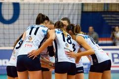 Kazan team timeout Stock Photo