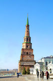 Kazan. Tower Syuyumbike Royalty Free Stock Image