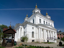 The Kazan women`s monastery in Yaroslavl, Russia. Golden ring of Russia Royalty Free Stock Photography