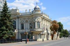Kazan, Z.N.Ushkovoy house Stock Image