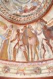 KAZANLAK, BUŁGARIA †'LIPIEC 26, 2015: Thracian grobowiec zdjęcia royalty free