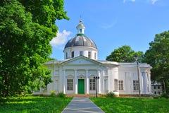 Kazanskaya-Kirche im Bogoroditsky-Palastmuseum Stockbilder