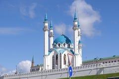 Kazanskaya mechet ` Kul-Sharif Odna iz samykh bol ` shikh mechetey Zdjęcia Royalty Free