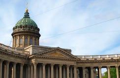 Kazanskiy Cathedral Stock Image