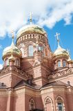 Kazansky Cathedral icon of the mother of God, Orenburg Royalty Free Stock Photos