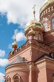 Kazansky Cathedral icon of the mother of God, Orenburg Stock Photo