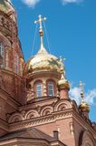 Kazansky Cathedral icon of the mother of God, Orenburg Royalty Free Stock Image