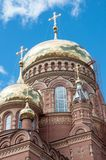 Kazansky Cathedral icon of the mother of God, Orenburg Royalty Free Stock Images