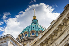 Kazansky cathedral in Saint Petersburg, Russia. Royalty Free Stock Photography