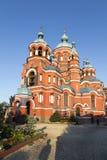 Kazansky Sobor在伊尔库次克,俄联盟 免版税库存图片