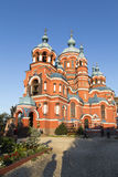 Kazansky Sobor в Иркутске, Российской Федерации Стоковые Изображения RF