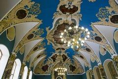 Kazansky Station. Waiting room interior Royalty Free Stock Photo