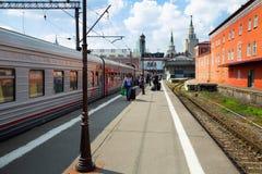 Kazansky terminal editorial Royalty Free Stock Photography