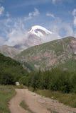 Kazbek, Georgië Stock Foto