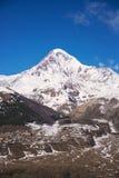The Kazbek mount Royalty Free Stock Images