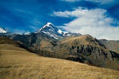 Kazbek mountain Royalty Free Stock Image