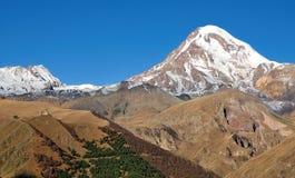 Kazbek. The top of Georgia. Stock Photography