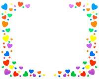 Kazillions dos corações imagem de stock