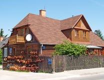 KAZIMEZH SUBMULTIPLE, POLAND.Sale of craft prod ucts in Kazimezhe Dolnom Stock Images