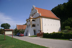 Kazimierz - casa del garner Fotografie Stock
