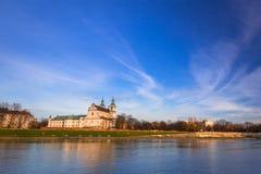 Kazimierz district of Krakow at Vistula river. Poland Royalty Free Stock Image