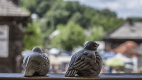 Kazimierz Dolny, Πολωνία - πουλιά πετρών Στοκ Εικόνες