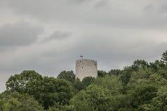 Kazimierz Dolny, Polônia - torre fortificada Imagens de Stock Royalty Free